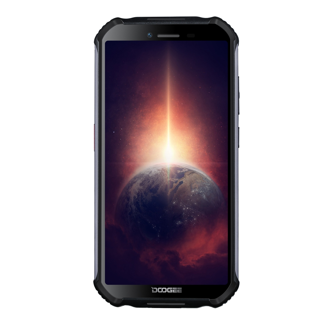 DOOGEE S40 5.45 Inch IP68 IP69K Waterproof NFC Android 10 4650mAh 4GB RAM 64GB ROM MTK6762D A25 Octa Core Cortex-A53 up to 1.8GHz 4G Smartphone (Black)