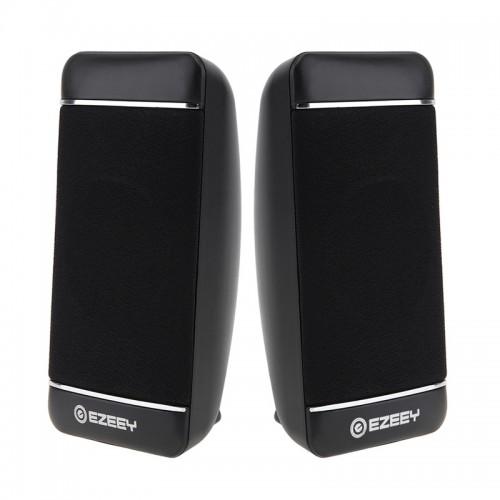 YEEZE S4 Notebook PC Mini Speaker Wired USB 2.0 Portable Speaker (Black)